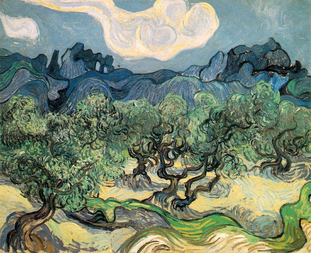 Vincent van Gogh (1853-1890) - The Olive Trees (1889)